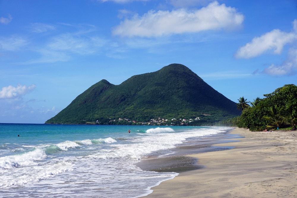 Martinique Sandstrand