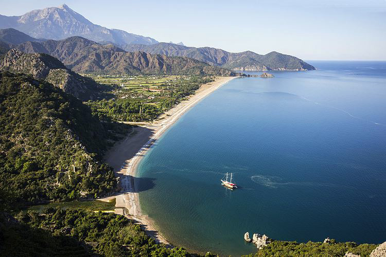 Olympos Beach Cirali - Lykische Küste Türkei