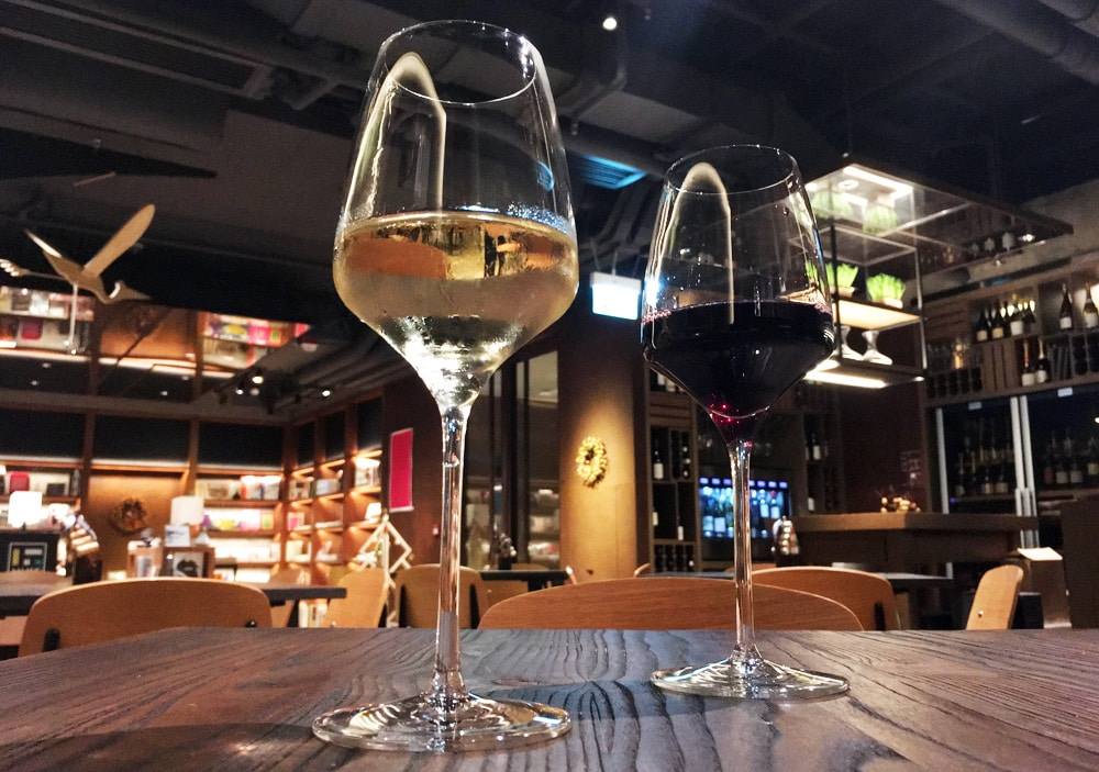 Hong Kong Reise: Weinbar im Hotel Stage in Kowloon