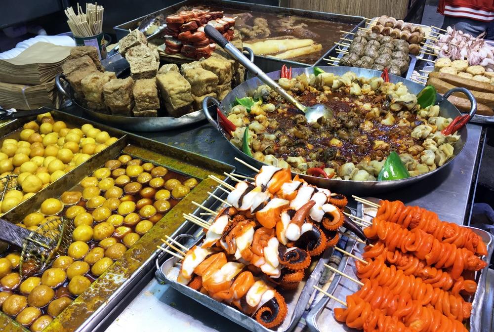 Hong Kong Reise: Streetfood am Stanley Market