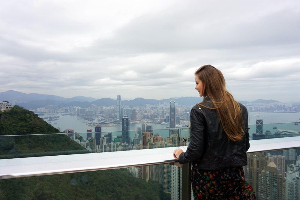 Hong Kong Reise: Aussicht vom Victoria Peak