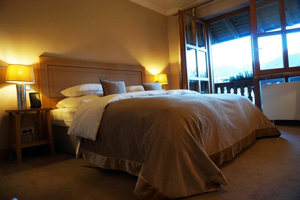 Hotel Bachmair Weissach - Wellnesshotel am Tegernsee - Doppelzimmer mit Aussicht