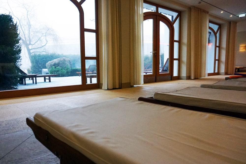 Hotel Bachmair Weissach - Wellnesshotel am Tegernsee - Family Spa Liegen