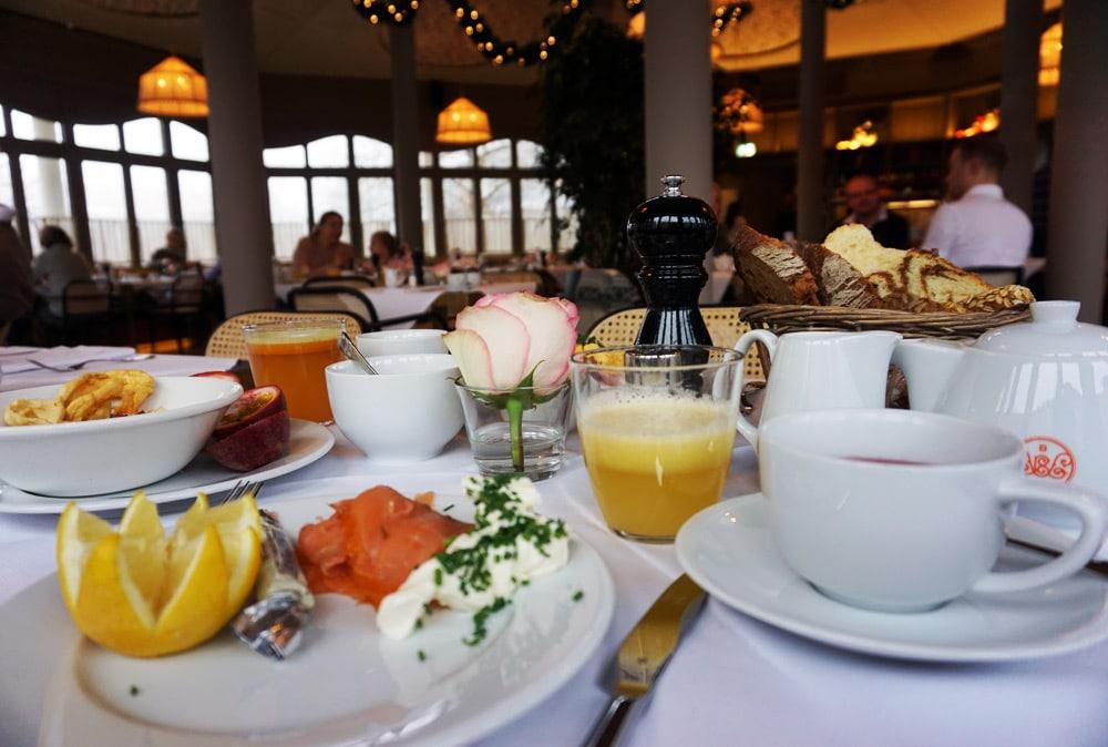 Hotel Bachmair Weissach - Wellnesshotel am Tegernsee - Frühstück am Frühstücksbuffet