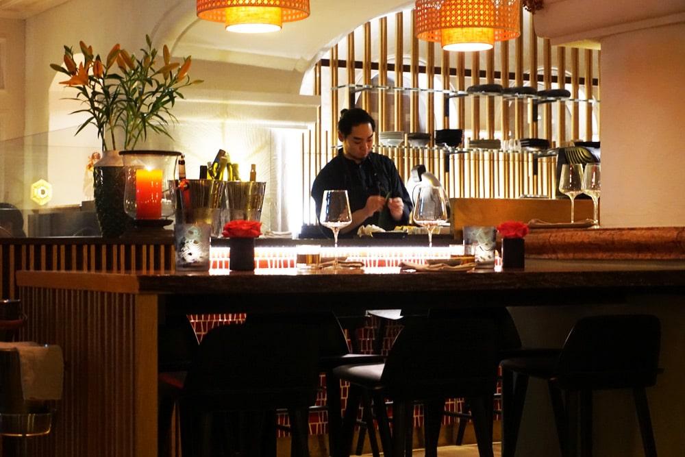Hotel Bachmair Weissach - Wellnesshotel am Tegernsee - MIZU Sushi Bar