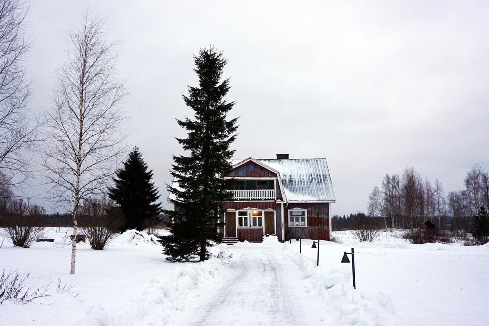 Jyväskylä in Lakeland, Finnland: Guesthouse Kumpunen