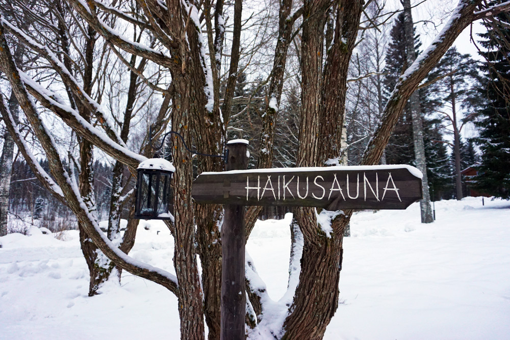 Jyväskylä in Lakeland, Finnland: Villa Kivitasku Sauna