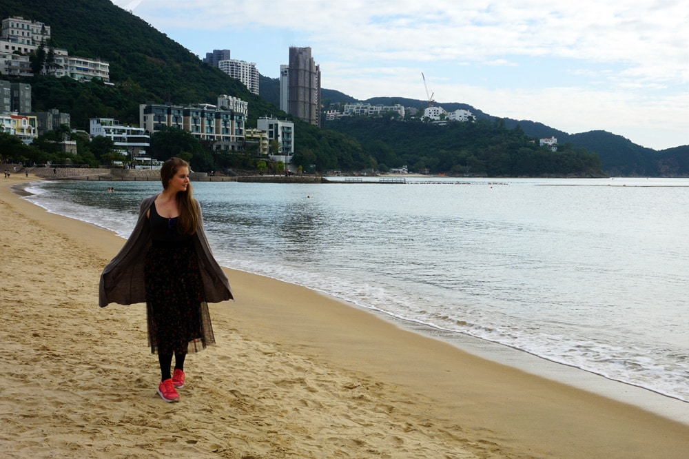 Hong Kong Reise: Repulse Bay Beach - schönster Strand in Hong Kong