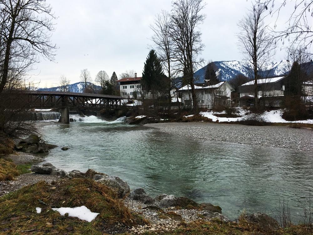 Tegernsee Fluss