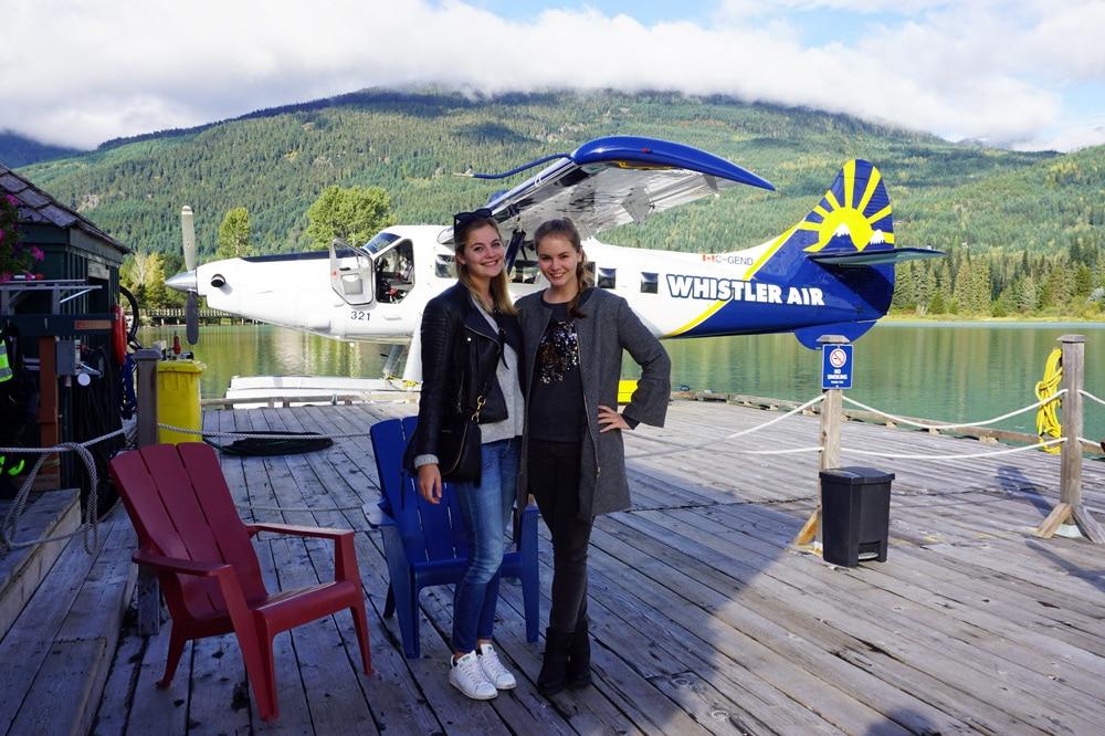 Der Flug mit dem Wasserflugzeug von Vancouver in den Skiort Whistler