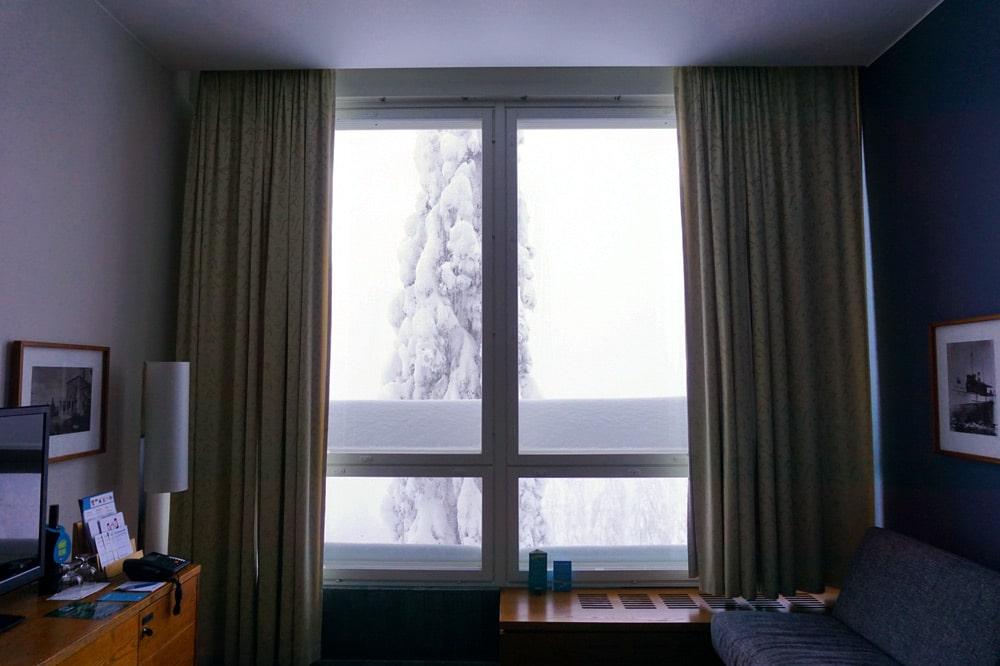 Break Sokos Hotel Koli - Aussicht aus dem Executive Doppelzimmer