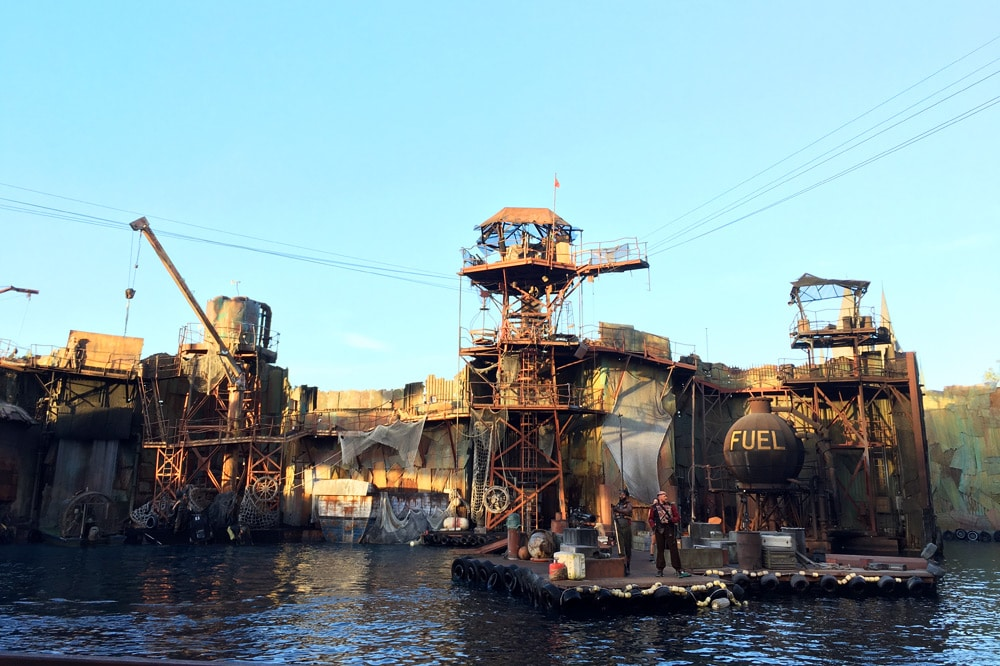 Universal Studios Hollywood Erfahrungen: Waterworld Show