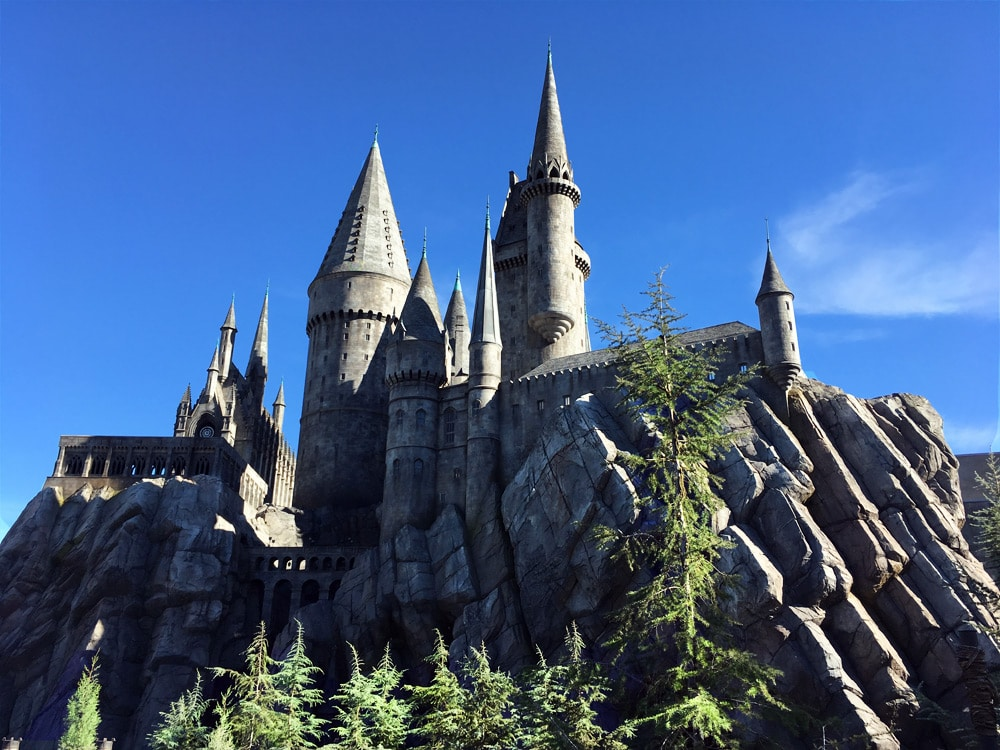 Universal Studios Hollywood Erfahrungen: The Wizarding World of Harry Potter - Harry Potter World - Hogwarts Castle