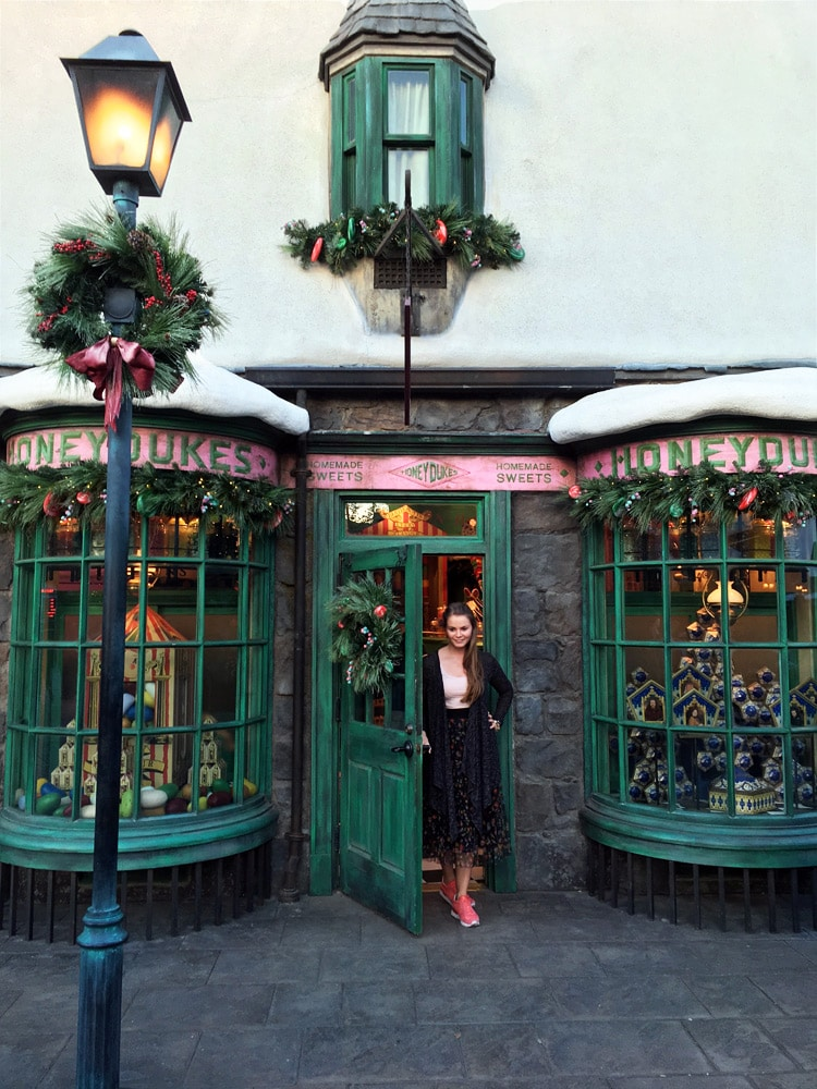 Universal Studios Hollywood Erfahrungen: The Wizarding World of Harry Potter - Harry Potter World - Honeydukes