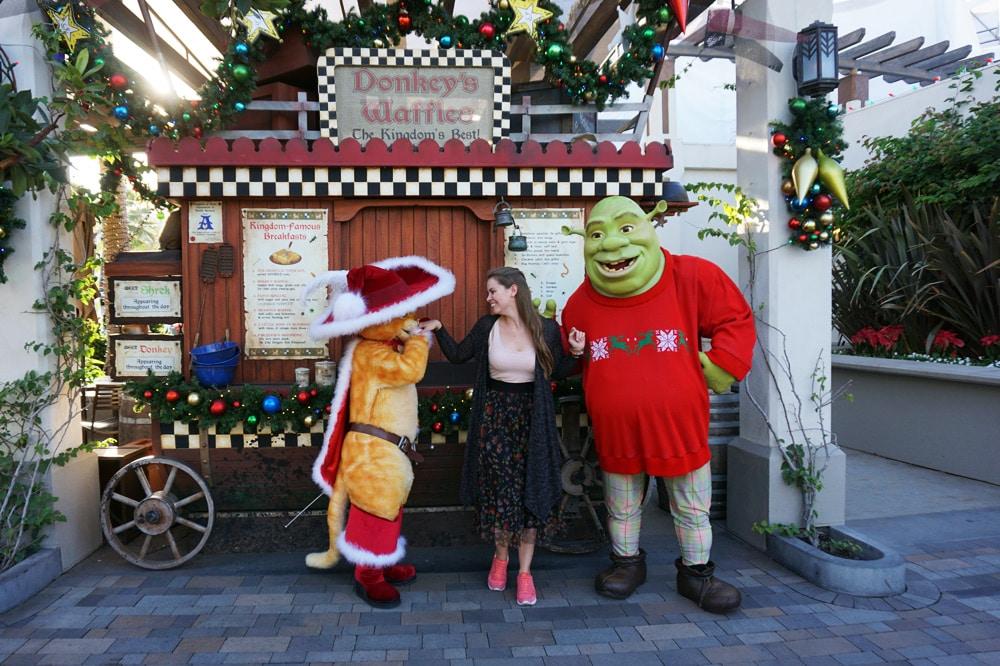 Universal Studios Hollywood Erfahrungen: Donkey's Waffles - Shrek