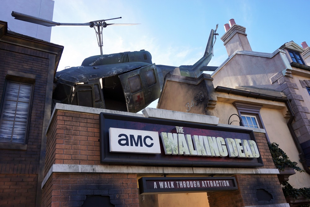 Universal Studios Hollywood Erfahrungen: The Walking Dead