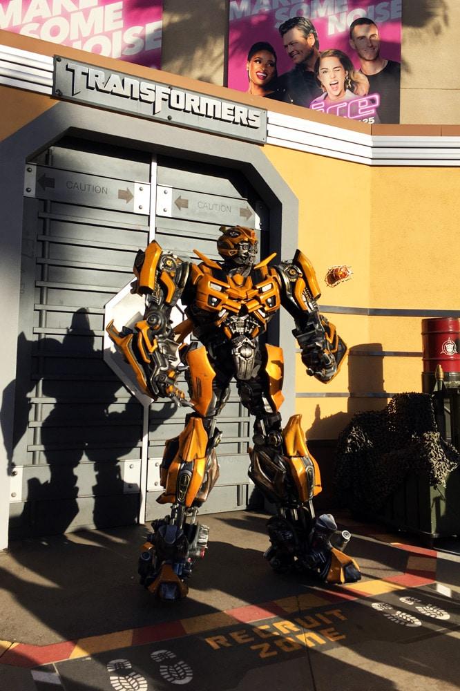 Universal Studios Hollywood Erfahrungen: Transformers