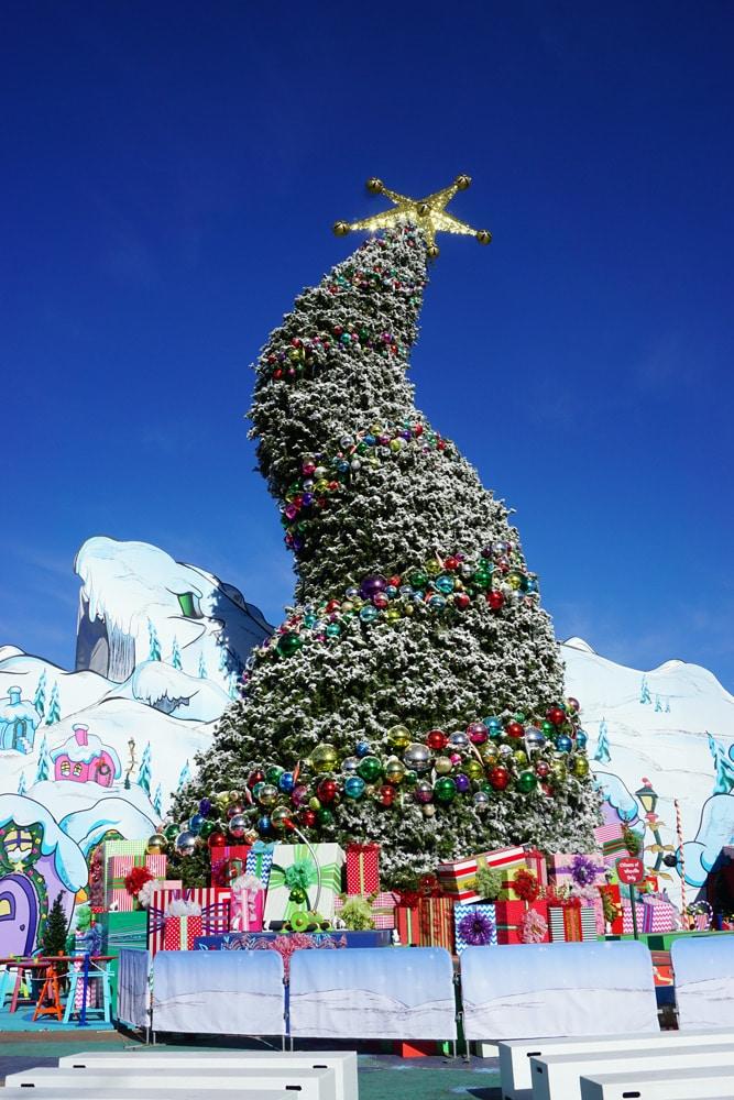 Universal Studios Hollywood Erfahrungen: Weihnachten - Weihnachtsdekoration