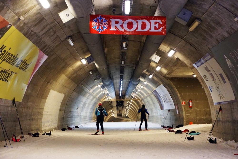 Vuokatti Sport Resort Langlauf Tunnel in Finnland