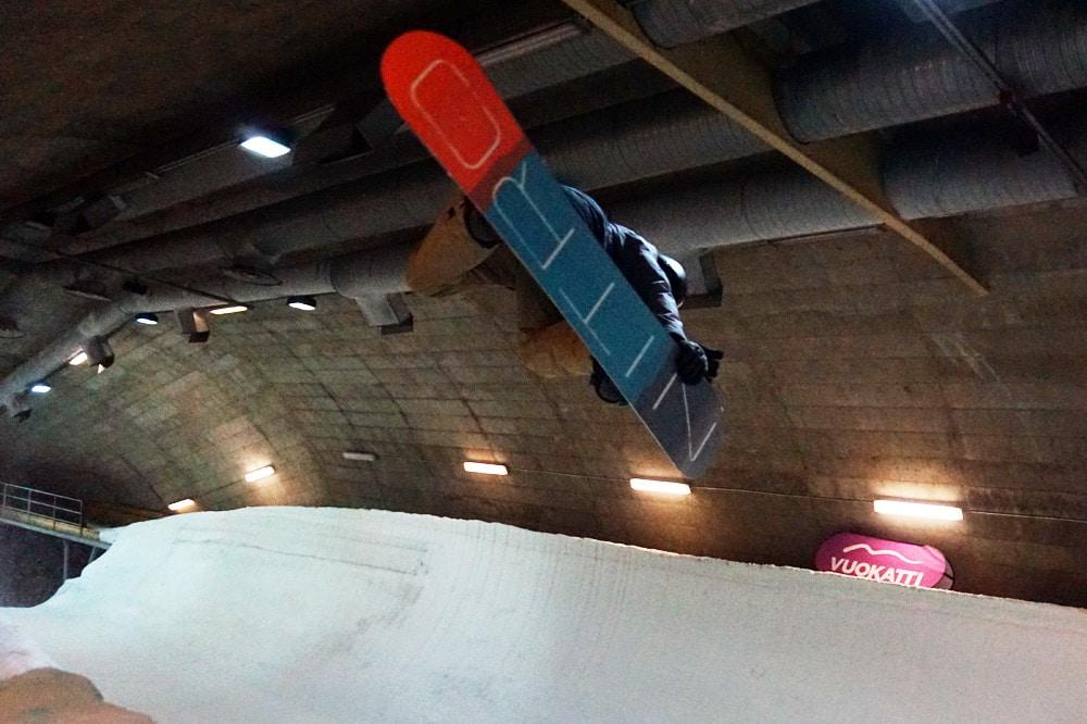 Vuokatti Sports Center Snowboard Tunnel