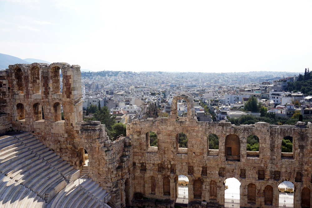 Athen Highlights: Dionysostheater - das Amphitheater der Akropolis