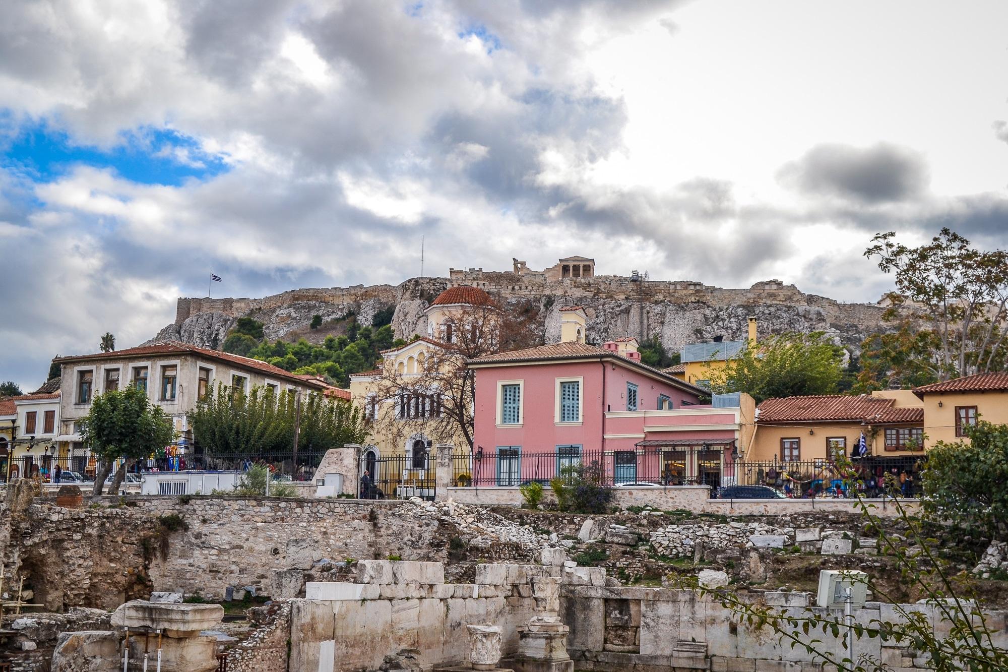 Athen Highlights: Durch Anafiotika auf die Akropolis