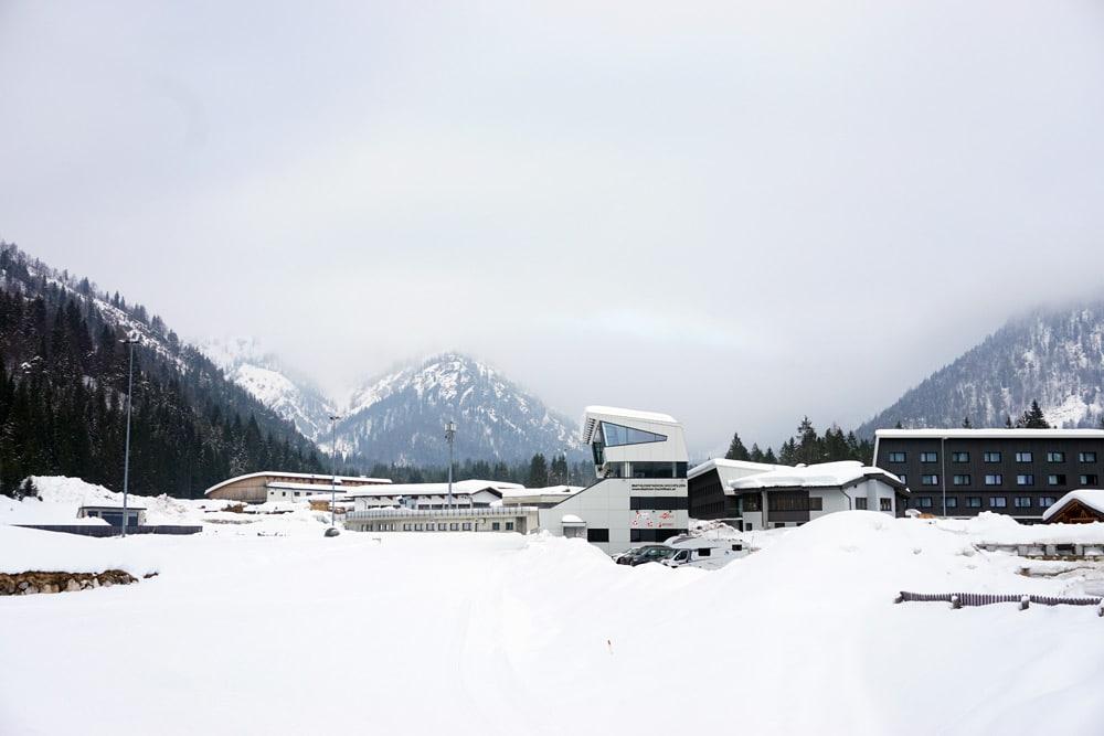 Langlauf lernen: Skilanglauf Urlaub in den Kitzbüheler Alpen - Langlauf klassisch im Pillersee Tal - Biathlon Stadion Hochfilzen