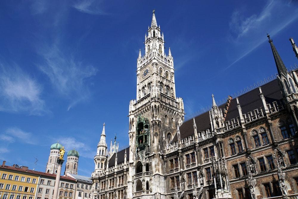 München Geheimtipps: Marienplatz im Stadtzentrum