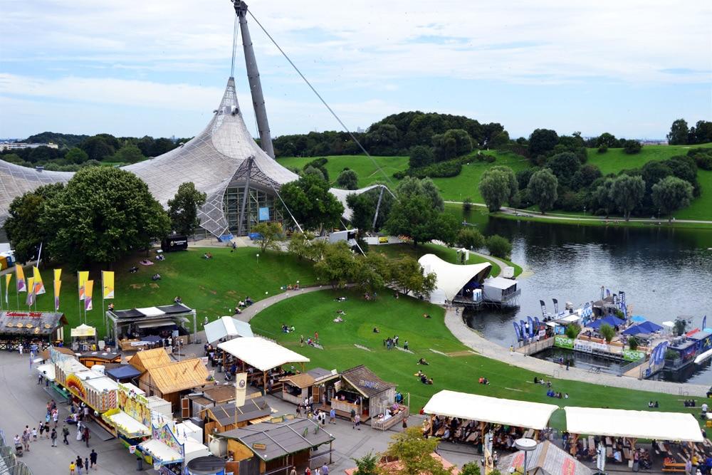 Impark Sommerfest im Olympiapark