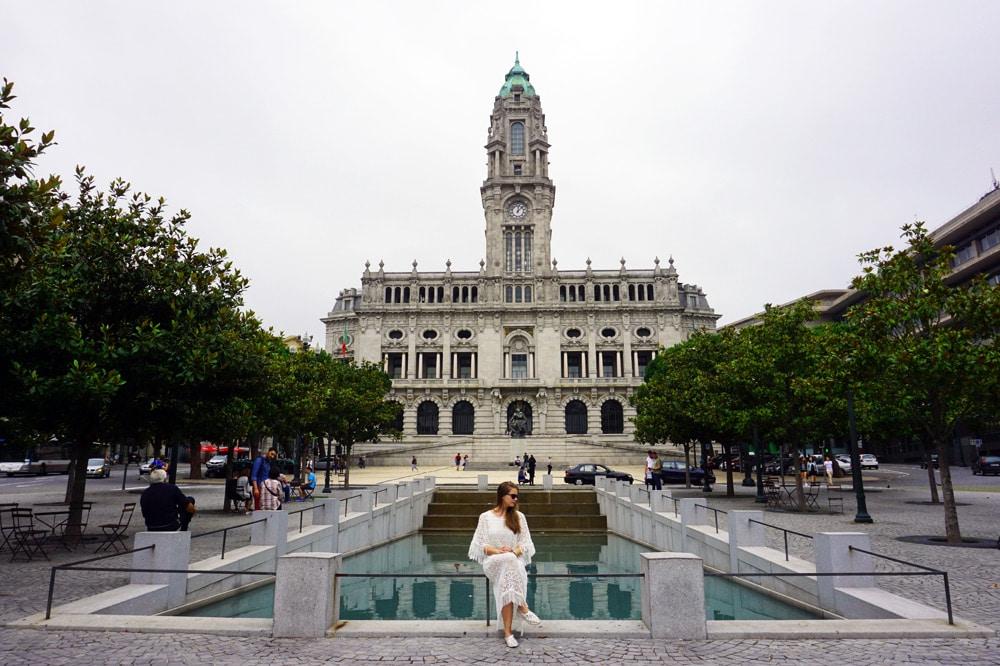 Porto Sehenswürdigkeiten und Highlights: Rathaus von Porto (Câmara Municipal do Porto)