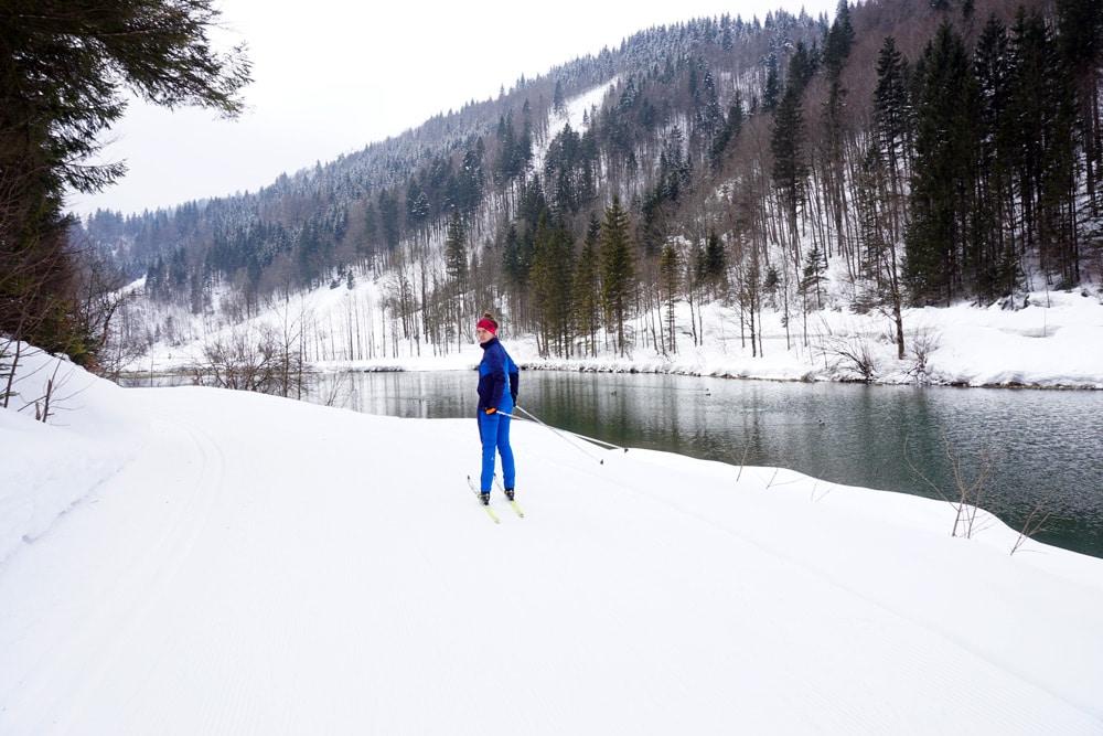 Langlauf lernen: Skilanglauf Urlaub in den Kitzbüheler Alpen - Langlauf klassisch im Pillersee Tal