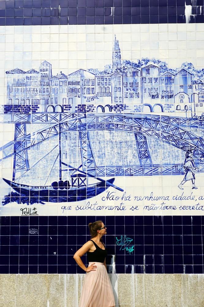 Porto Sehenswürdigkeiten und Highlights: Fliesen Azulejos
