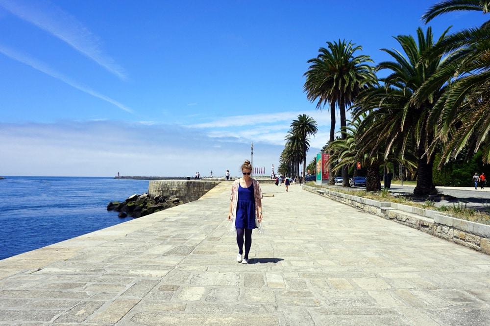 Porto Sehenswürdigkeiten und Highlights: Matosinhos Strand Surfen