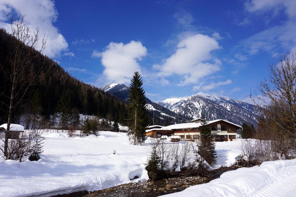 St. Ulrich am Pillersee - verschneite Landschaft