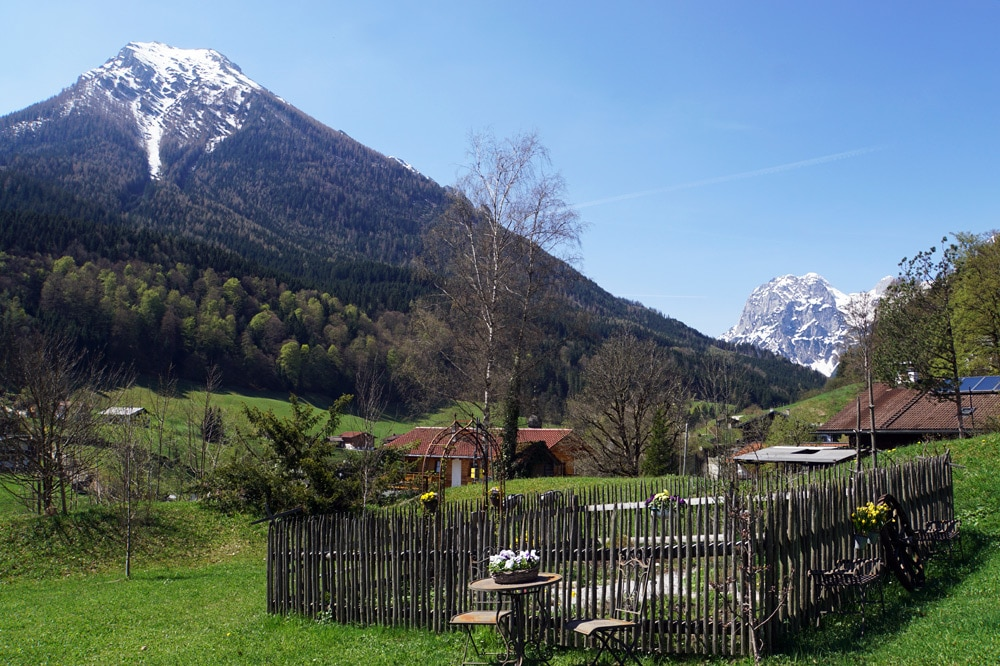 Berghotel Rehlegg Erfahrungsbericht: Kräutergarten