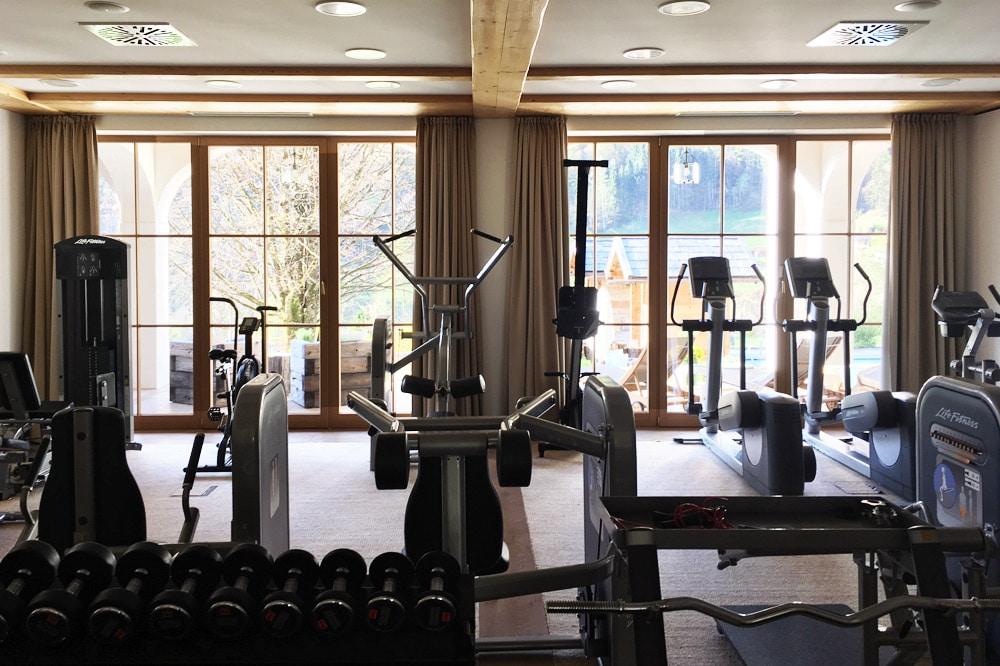 Berghotel Rehlegg Erfahrungsbericht: Fitnessstudio