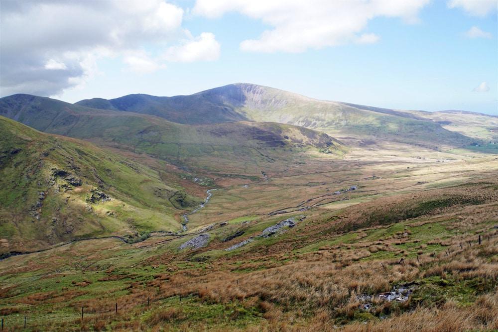 Wanderung auf den Mount Snowdon im Snowdonia Nationalpark in Wales