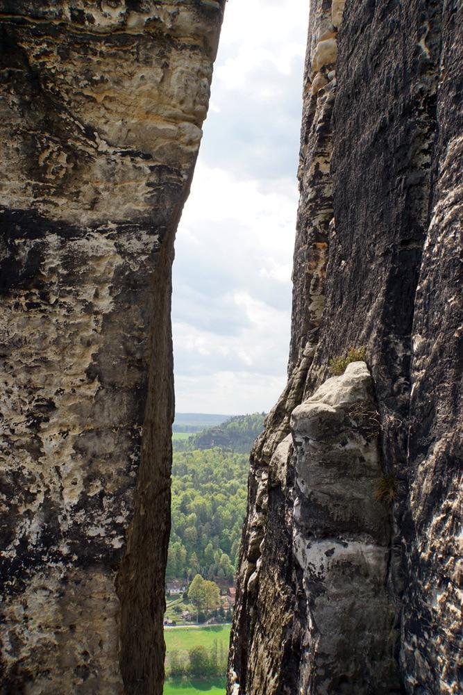 Wandern in der Sächsischen Schweiz: Wanderung zur Bastei - Basteibrücke