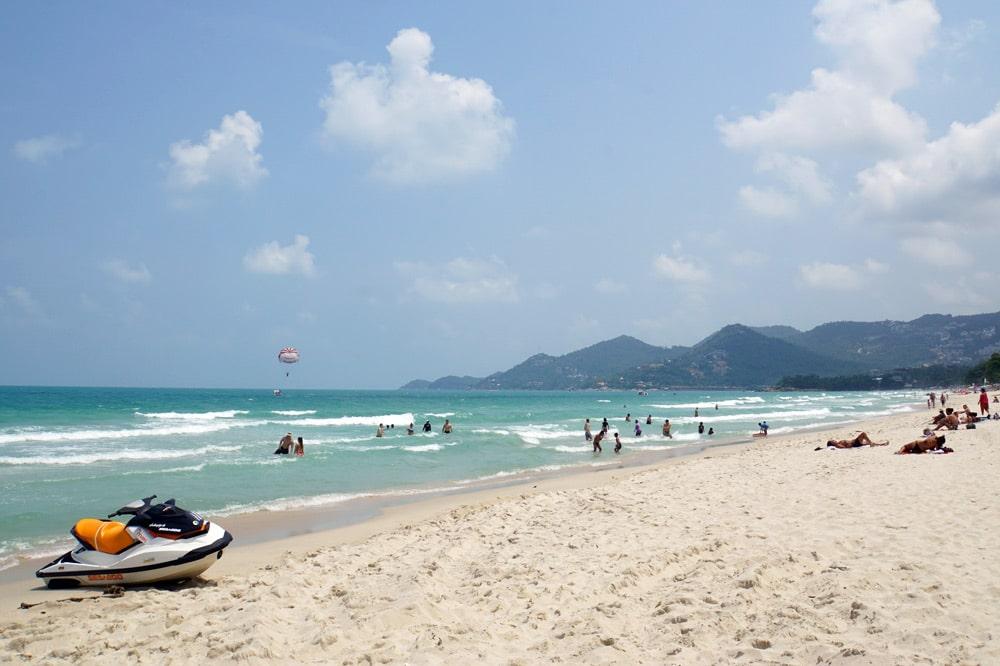 Koh Samui Schoenste Straende Chaweng Beach Coconut Sports