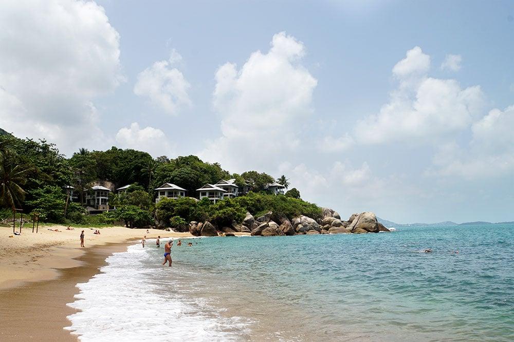 Koh Samui Sehenswürdigkeiten und Highlights: Coral Cove Beach