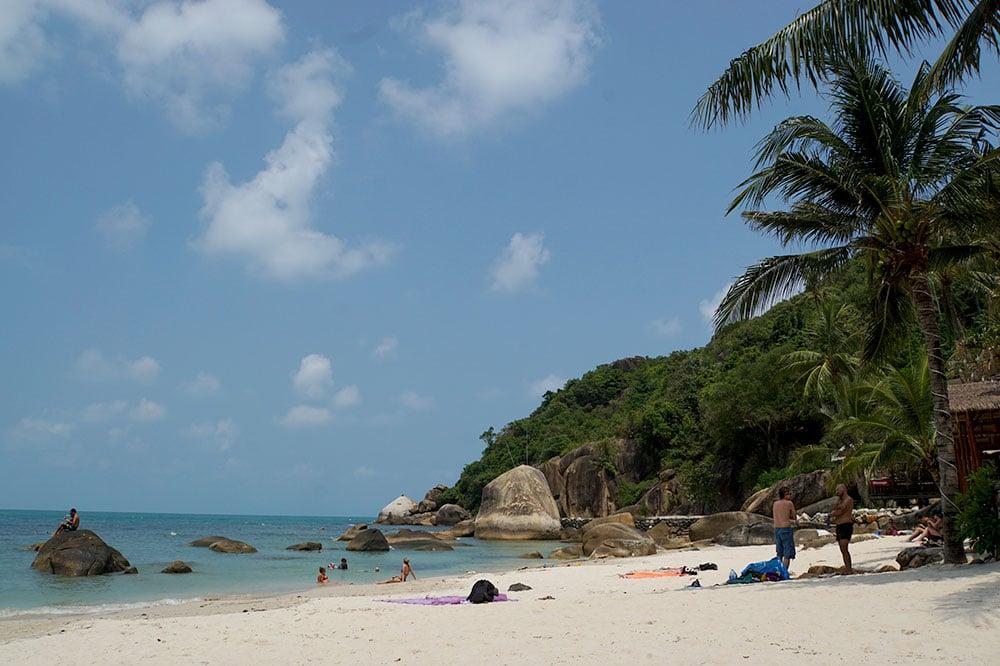 Koh Samui Sehenswürdigkeiten und Highlights: Der Strand Silver Beach