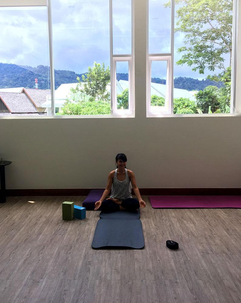 Thanyapura Health and Sports Resort Phuket - Yoga mit Coach Pascha