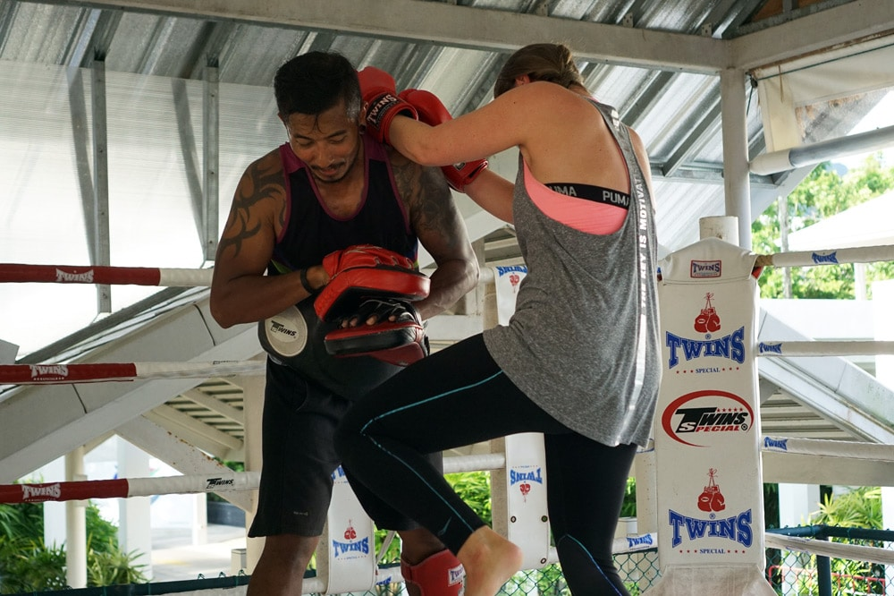 Thanyapura Health and Sports Resort Phuket - Muay Thai Training