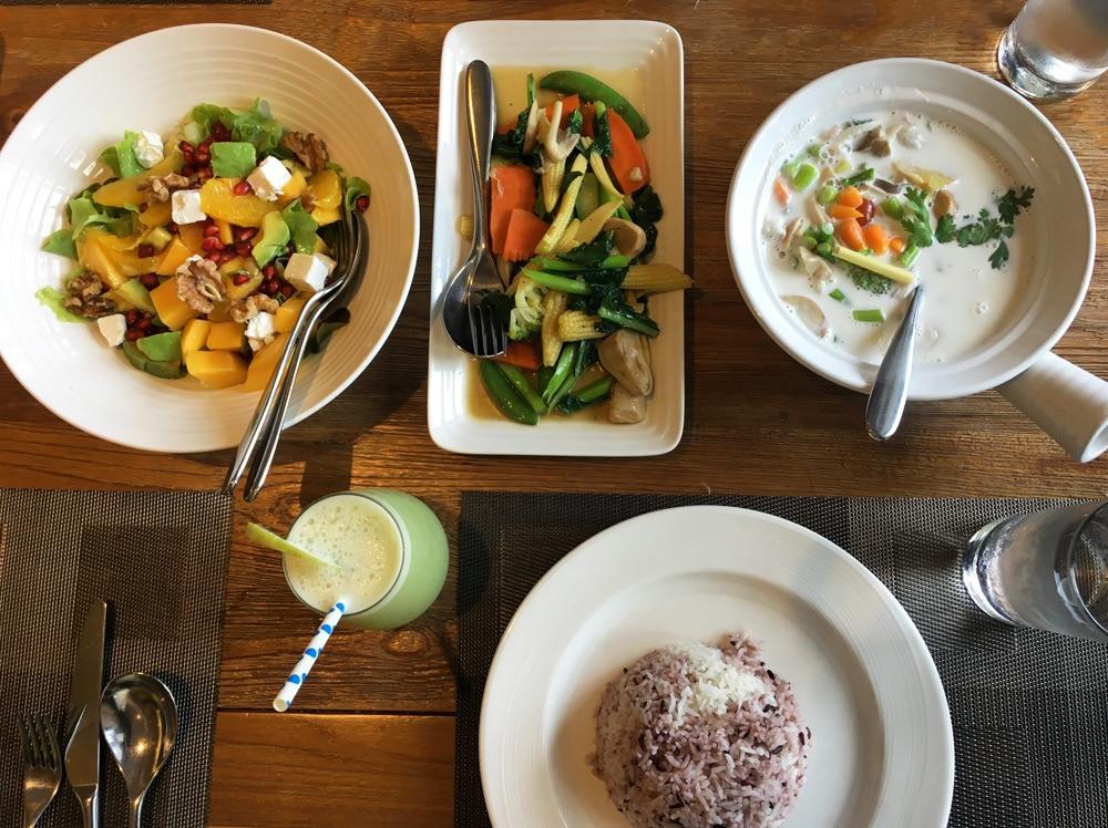Thanyapura Health and Sports Resort Phuket - Lunch im Restaurant DiVine