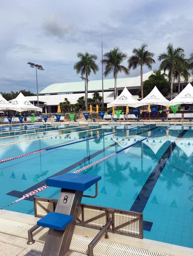 Thanyapura Health and Sports Resort Phuket - Schwimmtraining