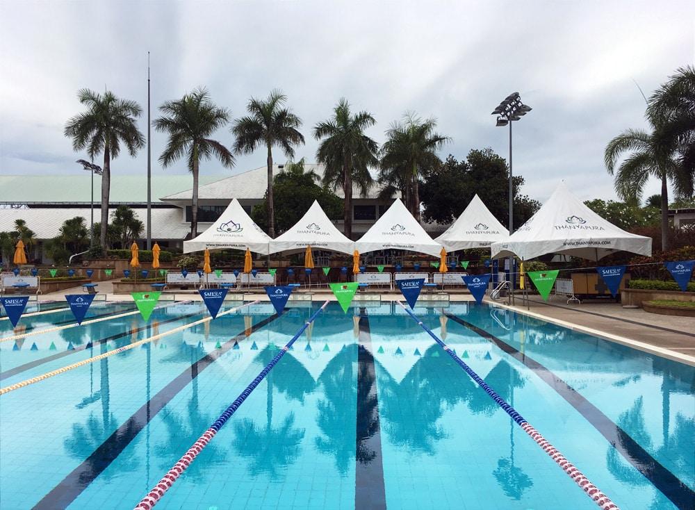 Thanyapura Health and Sports Resort Phuket - Pool zum Schwimmtraining