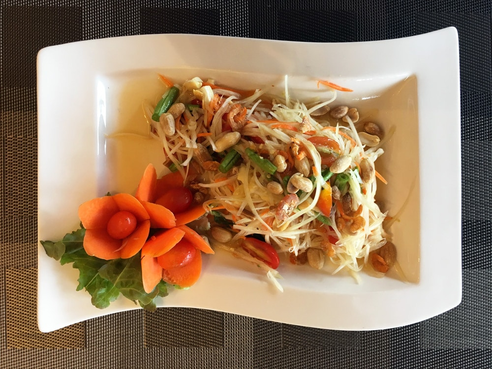 Thanyapura Health and Sports Resort Phuket - Kochkurs mit Papaya Salat