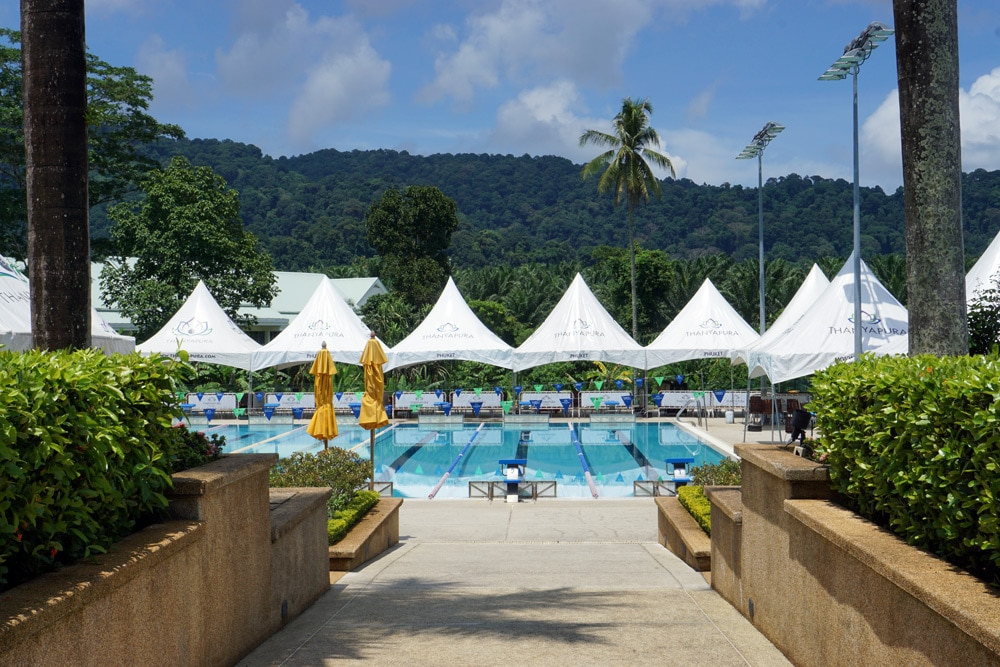 Thanyapura Health and Sports Resort Phuket - Pool zum Schwimmtraining