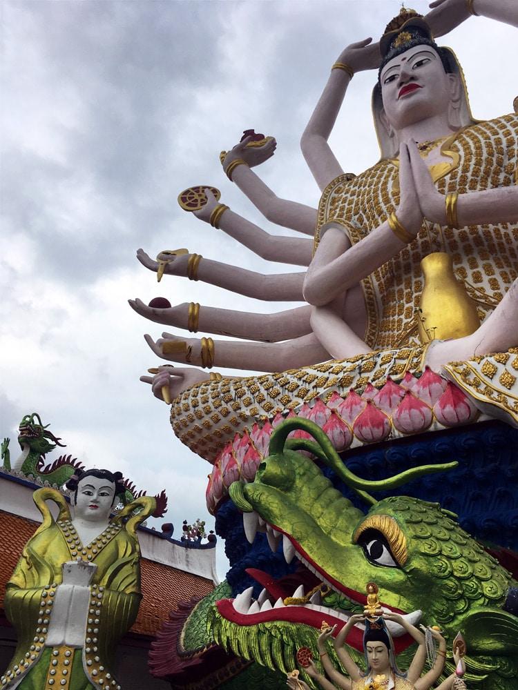 Koh Samui Sehenswürdigkeiten und Highlights: Wat Plai Laem