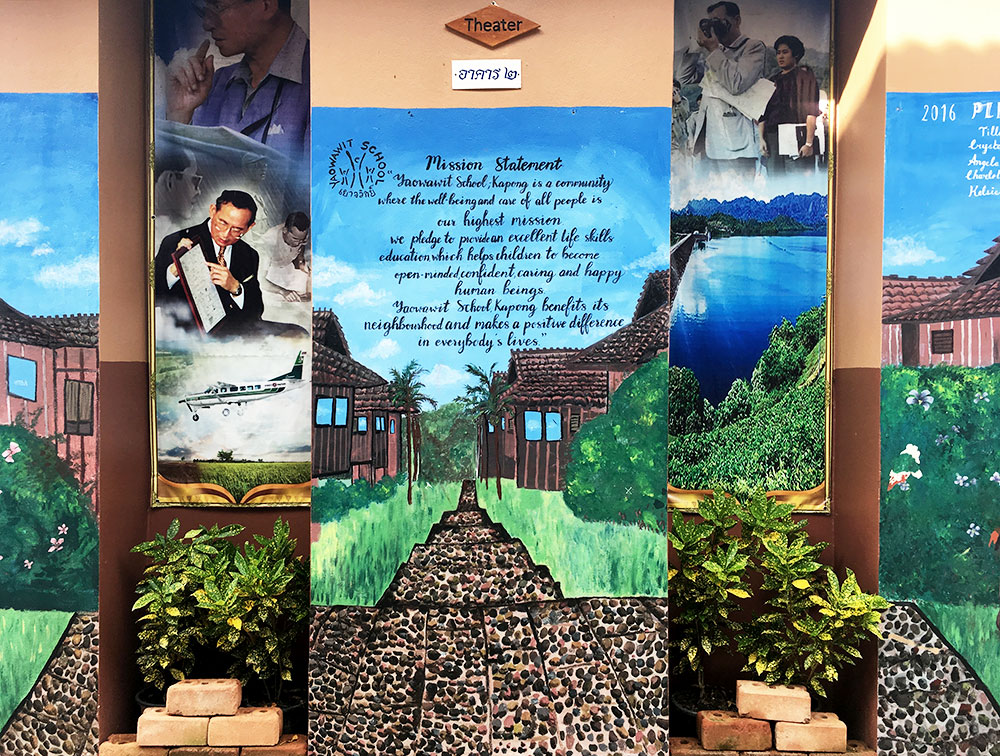 Yaowawit school auf Phuket, Thailand